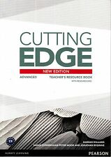 CUTTING EDGE Advanced NEW EDITION (2014) Teacher's Book with Resource Disc @NEW@