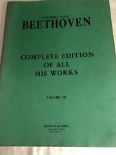 Beethoven. Complete Edition Of  All His Works