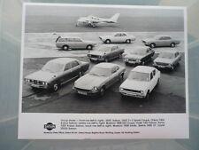 DATSUN 1975 RANGE ORIGINAL PRESS PHOTO  -side jm