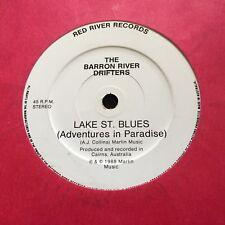 "BARRON RIVER DRIFTERS - - LAKE ST. BLUES - - Rare Oz Jazz 7"" SUGARCANE COLLINS"
