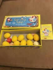HABA Dancing Eggs Board GAME Germany Eiertanz COMPLETE 3123 family education FUN