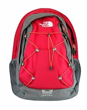 NEW THE NORTH FACE BACKPACK WOMAN'S ROSE RED LAPTOP SCHOOL BOOK BAG