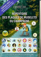 Catalogue Additif au Répertoire des plaques de Muselets du Champagne Ed.2021