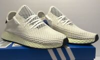 Adidas Mens Size 9.5 Originals Deerupt Runner Athletic White Shoes CQ2629