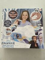 Frozen 2 Make Your Own Snow Party Pack Instant Snow Disney Brand New