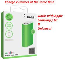 Universal Belkin Power Pack Series 4000mAh Portable Battery For Apple Samsung LG