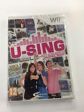 JEU Nintendo  WII u-sing  neuf