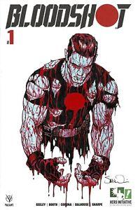 HERO INITIATIVE BLOODSHOT 50 PROJECT Original cover: STEVE McNIVEN CGC 9.6