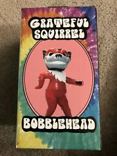 Grateful Dead Squirrel Nutzy 2018 Richmond Flying Squirrel Baseball Bobblehead