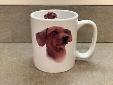 Dachshund Definition 14oz White Ceramic Mug by Taskets Double-Sided