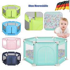 Laufgitter Spielgitter Reisebett Laufstall Babybett Kind Waschbar Spielstall