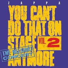 You cant do that on stage anymore, vol.2 di Frank Zappa (2012) 2cd Merce Nuova