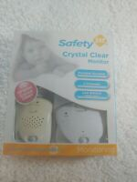 Safety 1st Crystal Clear Baby Monitor Portable Receiver 2 Channels Model 49377G