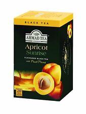 New !  6 x  20 Foil Tea bags Ahmad Tea Ahmad Tea Apricot Sunrise