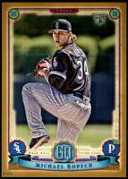 Michael Kopech 2019 Topps Gypsy Queen 5x7 Gold #130 RC /10 White Sox
