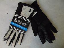 Isotoner Signature Smart Touch Gloves 56802 Active Matrix Black Ivory M/L #C112