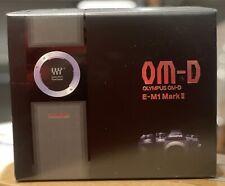 NEW Olympus OM-D E-M1 Mark II Mirrorless Micro Four Thirds Digital Camera Body