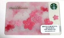 Starbucks Korea 2014 Cherry Blossom SAKURA Card