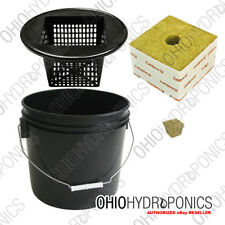 3.5 Gallon Project Bucket Starter Kit Hydroponics Diy Aeroponics Bubbleponics