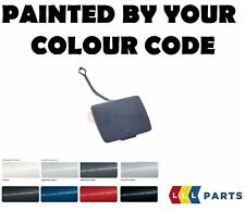 BMW NEW FEO E87 REAR BUMPER TOW HOOK EYE COVER CAP PAINTED BY YOUR COLOUR CODE