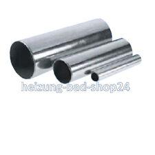 6 m C-Stahlrohr 22x1,5 verzinkt Heizungsrohr Rohr
