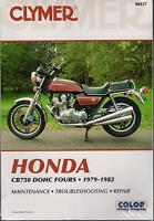 1979-1982 CLYMER HONDA MOTORCYCLE CB750 DOHC FOURS SERVICE REPAIR MANUAL M337