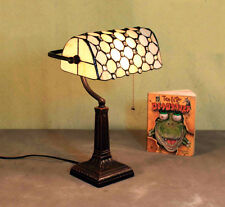 Tiffanylampe Tisch Büro Lese Tiffany Lampe Bürolampe Tischlampe GN163GE