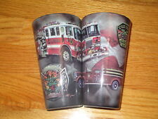 VULCAN FIRE DEPARTMENT 100th Anniversary Glass CHEMICAL & HOSE Co. Lynbrook NY