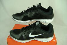 New Womens 9.5 NIKE Move Fit Black White Running Shoes $85 469770-004
