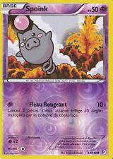 Spoink Reverse-N&B- Frontieres Franchies - 59/149-Carte Pokemon Neuve Français