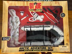 New in Box,  GIJoe Classic Collection, Arctic Adventure Set, Hasbro, 1998