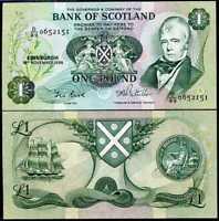 Scotland 1 Pound 1999 P 360 UNC Commemorative Scottish Parliament Low Shipping!