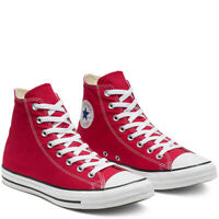 CONVERSE Chuck Taylor All Star Classic High Top Scarpe Sneakers RED M9621C