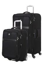 SWISSGEAR 6369 Expandable Upright 2pc Luggage Set - Black