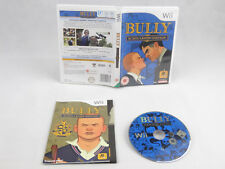 Bully Scholarship Edition Nintendo Wii Complete + MAP PAL