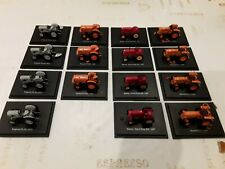 Lot De 15 Tracteurs Agricoles Miniature 1/43 ferguson, renault, massey