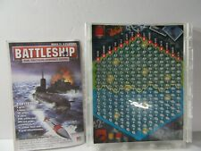 Battleship Tactical Combat Game Plastic Grid Board & Instructions - PARTS ONLY