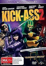 KICK-ASS 2 - BRAND NEW & SEALED R4 DVD + UV COPY (COMIC BOOK SUPERHERO COMEDY)