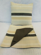 Cute Cushion Cover, Laura Ashley, Striped, Cream, Beige, Grey, Black, Neurtal.