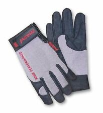 2 Pairs Safety Works Gardening Work Gloves w Reinforced Thumb Pad - Large