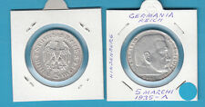 MONETA GERMANIA GERMANY DEUTSCHLAND 5 MARK 1935 A ARGENTO SILBER SILVER IN OBLO'