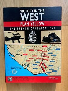 Victory in the West: Plan Yellow, The French Campaign 1940 - GMT, excellent cond