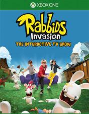 Microsoft XBOX - One XBOne Spiel * Rabbids Invasion Die interaktive TV-Show *Neu