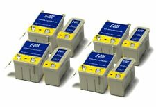 4x Black & 4x Colour Compatible (non-OEM) Ink Cartridges to replace T007 & T008