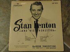 """10 Inch Album By Stan Kenton, """"Stan Kenton Orchestra"""" on MacGregor"""