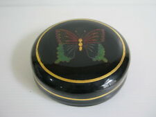 Vintage Burmese lacquer jewelry box