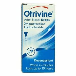 Otrivine Nasal Drops Adult - 10ml | Multi Listing | UK STOCK