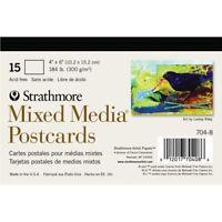 Strathmore Mixed Media Postcards