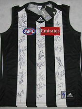 2013 COLLINGWOOD Magpies Hand Signed Jersey x 27