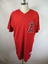 F3155 Majestic Athletic Los Angeles #76 MLB Baseball Jersey Size 48 Made in USA